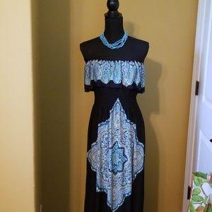 💎Gorgeous Strapless Maxi dress